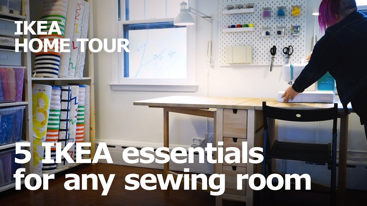 5 Essentials For Any Sewing Room Ikea