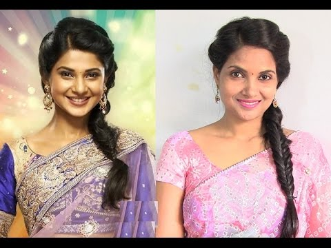 TV Actress Jennifer Winget inspired Hairstyle - Bollywood Hairstyles