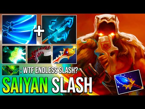 SUPER SAIYAN Trident Juggernaut No Mercy Non-Stop Omnislash + Minislash Absolutely Broken Dota 2