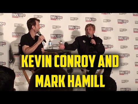 Kevin Conroy and Mark Hamill Q&A  Dallas  Expo 2017  Batman and Joker