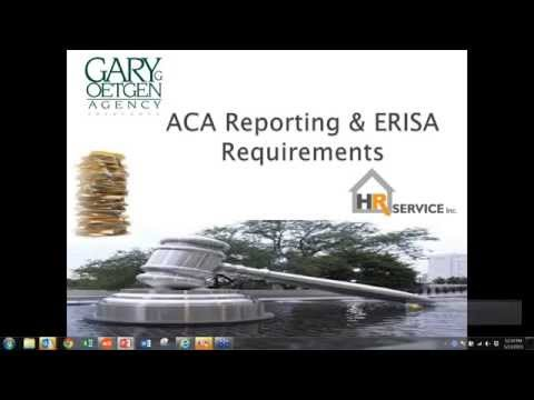 Gary G Oetgen Agency ACA Employer Reporting, SPDs, Employee Notices