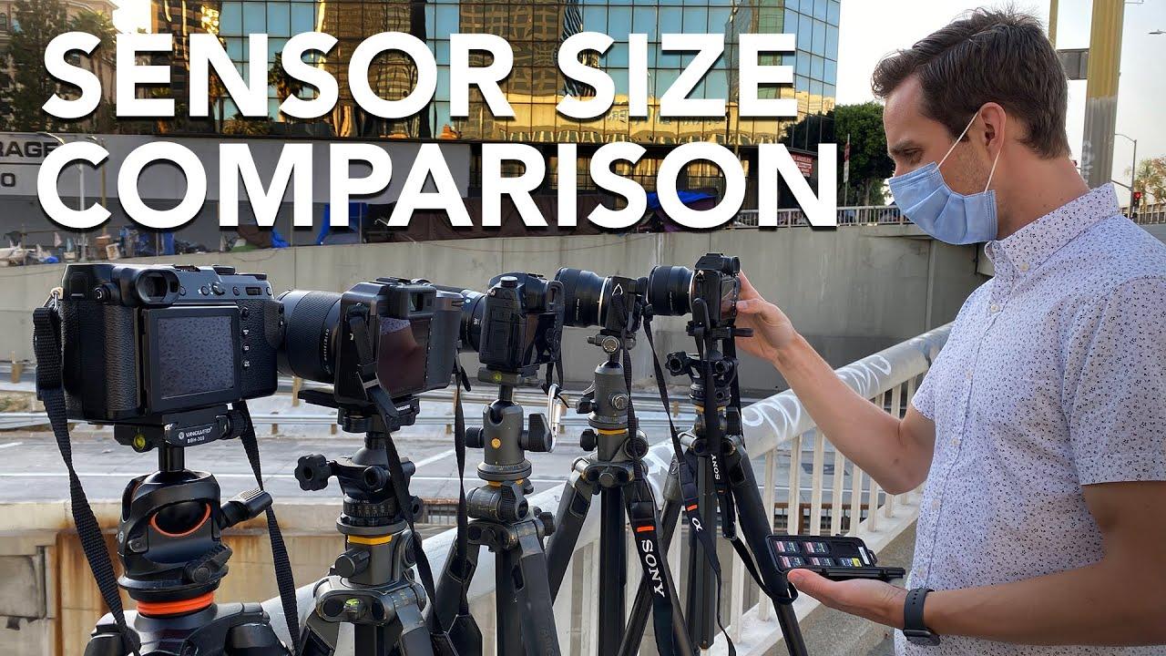 Does Sensor Size Matter Camera Sensor Size Comparison Youtube