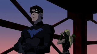 Nightwing vs Aqualad