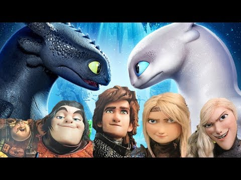 White night fury confirmed, new character designs, and story predictions [ HTTYD 3 analysis ]