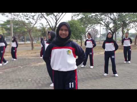 Ujian Praktek Senam Aerobik SMAN 1 Surabaya XII MIPA 2 Kelompok Ganjil Tahun Ajaran 2018-2019