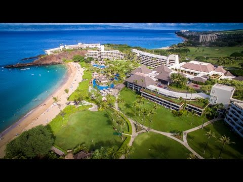 Hawaii - Kaanapali Beach - Black Rock Beach Sheraton & Whalers Village Maui - Hawaii 4K UHD