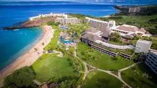 Hawaii - Kaanapali Beach - Black Rock Beach Sheraton & Whalers Village Maui - Hawaii 4K UHD