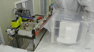 노즐식 진공포장기 VKS 450D 웨이퍼 캐리어 진공포…