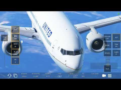 infinite flight (関西-羽田)フルフライト