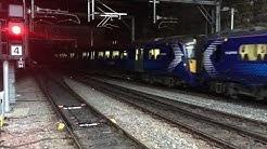 Trains at Glasgow Queen St