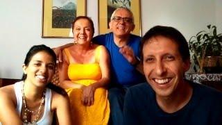 Olga Stella, Albeiro, Julián y Ana