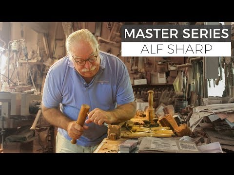 Journey of a Master Craftsman: In the Shop with Alf Sharp Part 1