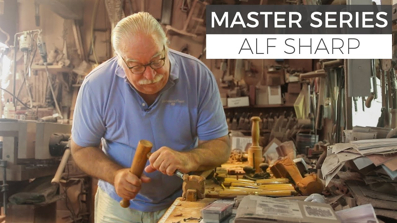 Journey Of A Master Craftsman In The Shop With Alf Sharp Part 1