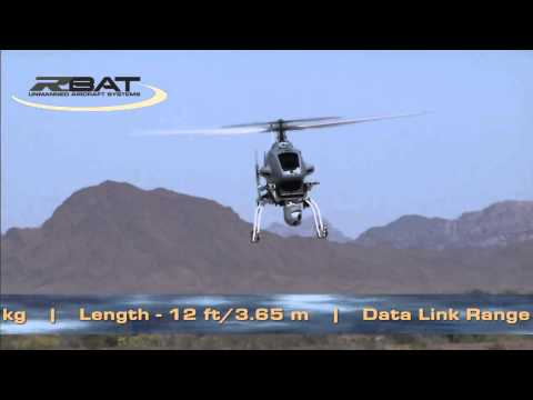 R-Bat Unmanned Helicopter System