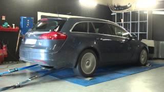 * Reprogrammation Moteur * Opel Insignia cdti 130cv @ 197cv Dyno Digiservices Paris