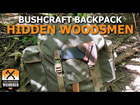 Bushcraft Backpack Hidden
