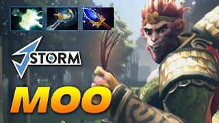 MOO Monkey King [J.Storm] Dota 2 Pro Gameplay