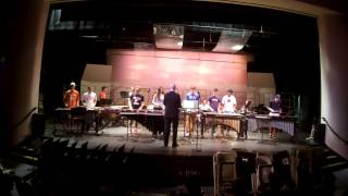 Fieldston percussion ensemble III, MAY 19 2015