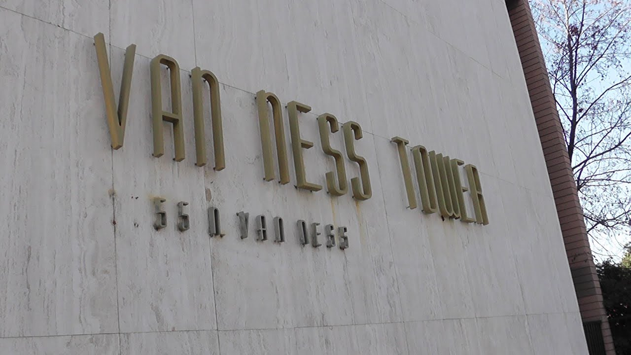Van Ness Towers Office Building Tower District Fresno