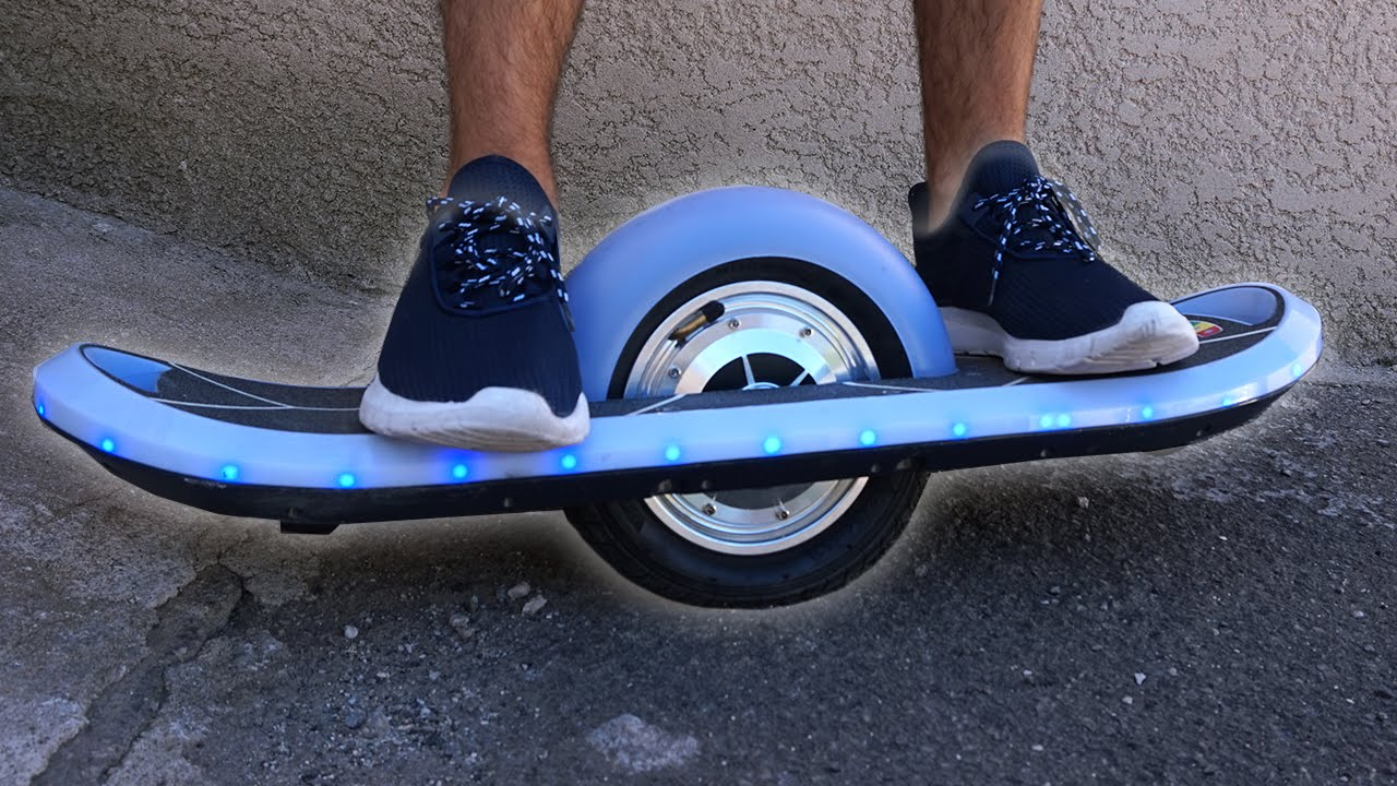 nouveau skate lectrique 1 roue dit hoverboard youtube. Black Bedroom Furniture Sets. Home Design Ideas