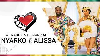 Beautiful Ghanaian/American wedding. When Ghana meets America