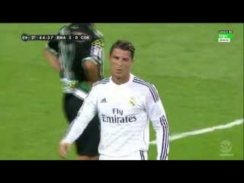 Real Madrid vs Cordoba 2-0 All goals & Highlights 25/8/2014