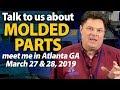 Free Molding Consultations at the Atlanta GA - Design-2-Part Show