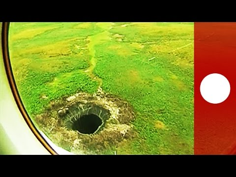 Mysterious giant crater discovered at