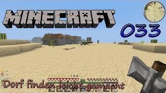 Minecraft [LP] Folge 033 - Dorf finden leicht gemacht