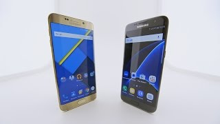 Обзор Galaxy S7 Edge и сравнение с S6 Edge+