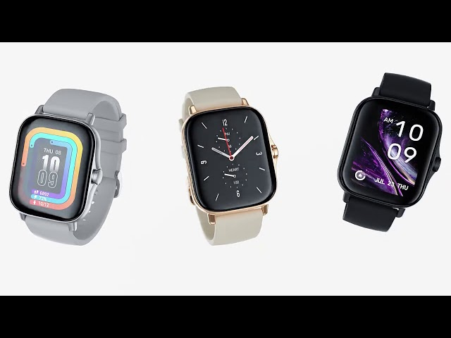 Amazfit GTS 2 Smartwatch: Where Style Meets Health