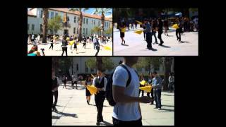 San Jose State University RAINN Day Flash Mob.09.22.2011