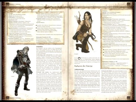 The Dark Eye Core Rules - Chapter 05: Cultures 3/3  