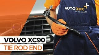 How to change Tie rod end on VOLVO XC90 I - online free video