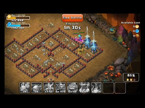 Castle Clash Dungeon 8 Road To The Farming Promise Land
