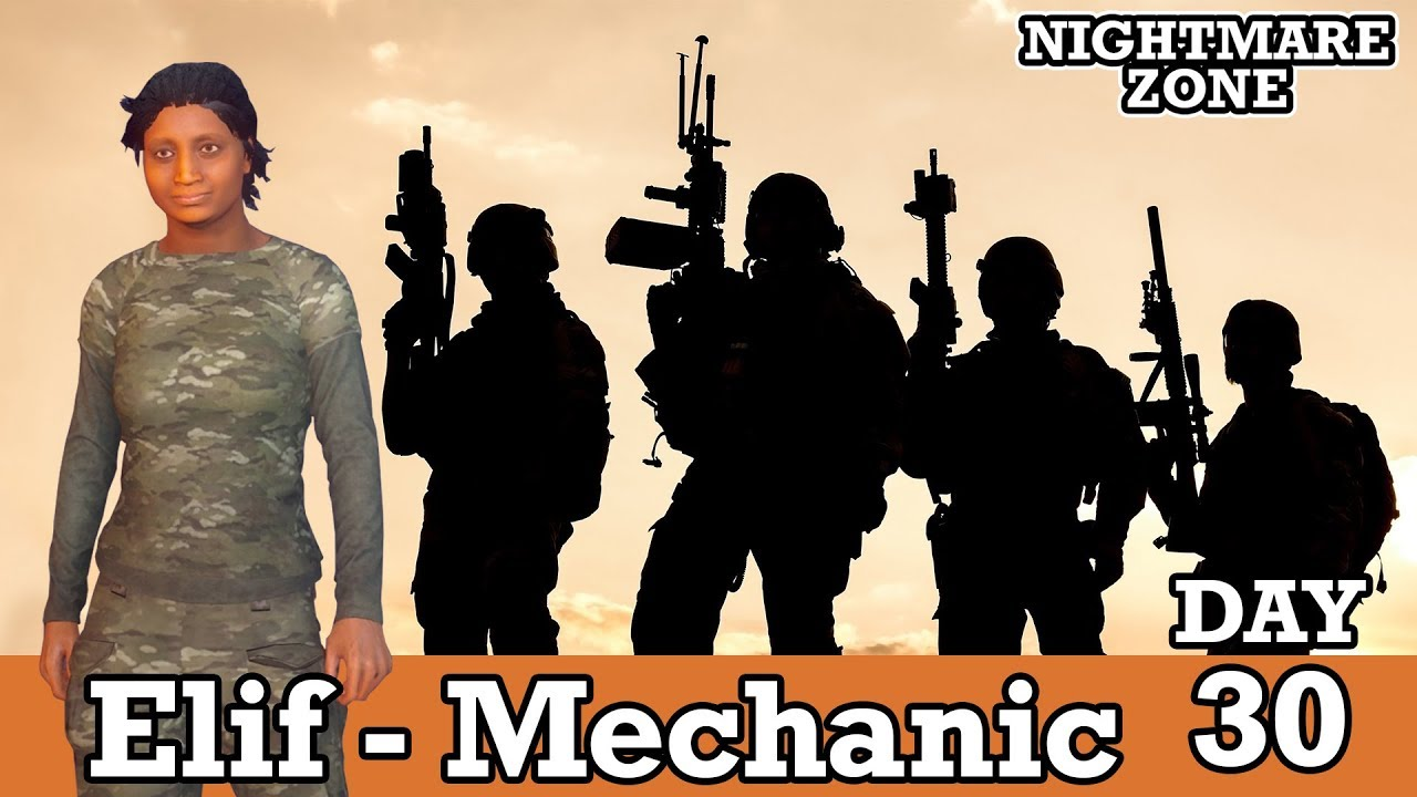 MILITARY RECRUIT! MEET ELIF THE AUTO MECHANIC! NIGHTMARE ZONE 30 | STATE OF  DECAY 2
