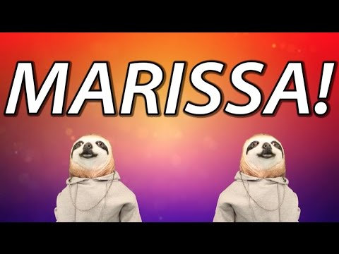 HAPPY BIRTHDAY MARISSA! - SLOTH HAPPY BIRTHDAY RAP