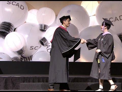 2017 SCAD Savannah Commencement, 1 p.m. ceremony