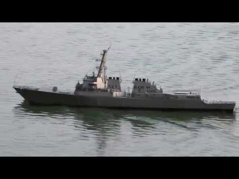 1:144 Scale Arleigh Burke Class Destroyer Promotional Video (Short)