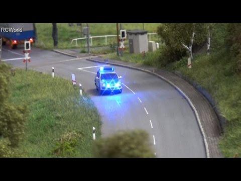 RC German City Trucks Train Police LKW Zug ♦ Erlebniswelt Modellbau Erfurt 2016 Modellbaumesse