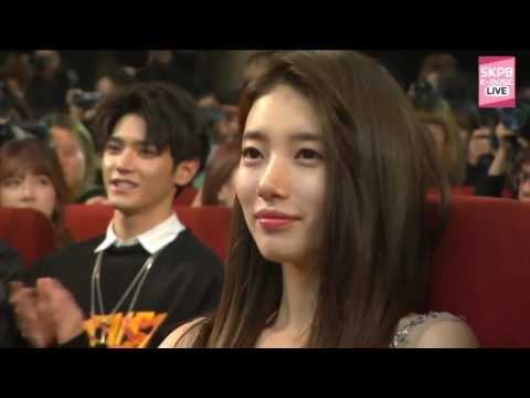 161116 Im Yoona, Baekhyun & EXO win Most Popular Awards @ 2016 아시아 아티스트 어워즈 Asia Artist Awards