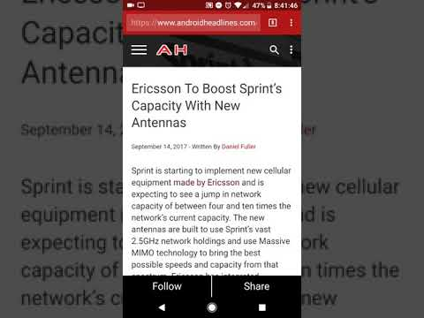 Sprint upgrading antennas, enhancements to network performance.
