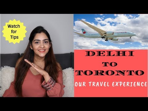 Air Canada Review - India To Toronto - Full Details
