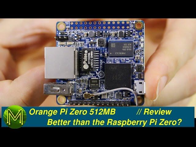 Orange Pi Zero: Better than the Raspberry Pi Zero? // Review