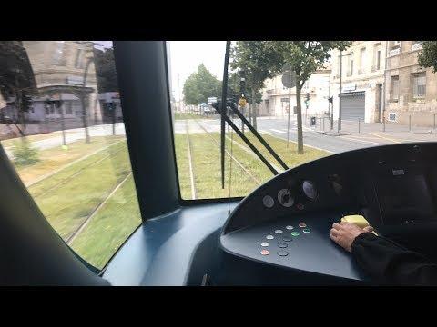 Tram & Rail Live. Bordeaux Tramway & St Jean Station