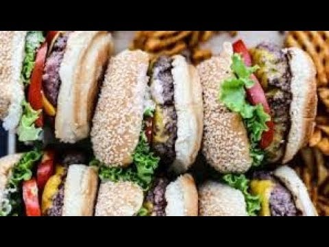 AMAZING BURGER STREET FOOD OF PAKISTAN - Street Food Unlimited - Street Food Lahore Pakistan
