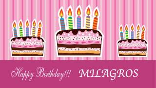 Milagros - Birthday cards - Happy Birthday