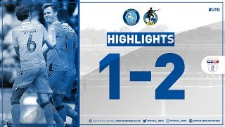 Match Highlights: Wycombe Wanderers 1-2 Bristol Rovers