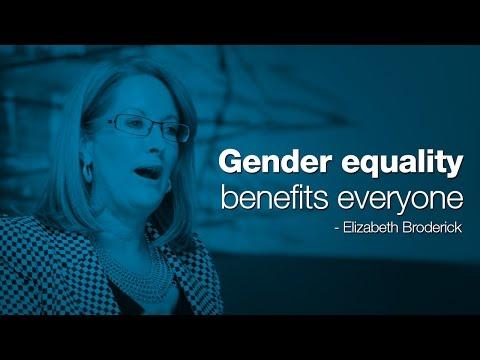 Gender equality benefits everyone - Elizabeth Broderick