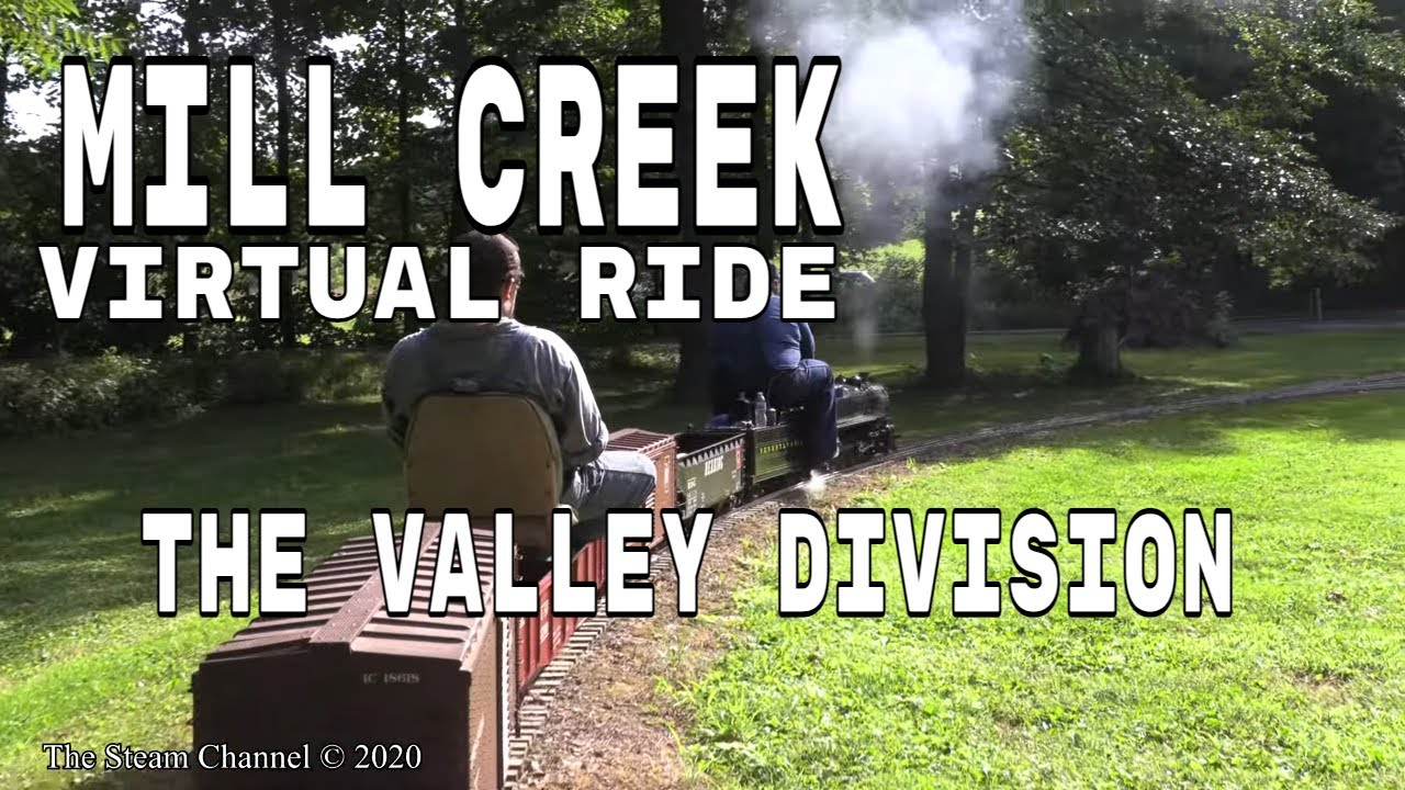 Mill Creek Central: Virtual Train Ride Up The Valley Division